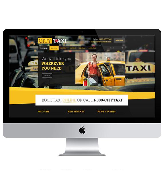 Diseño de páginas web para taxis