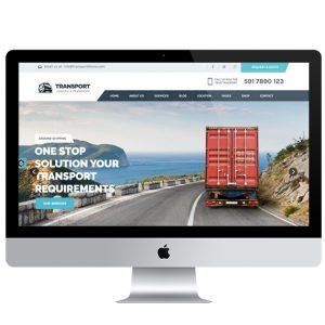 Diseño de páginas web para transportes y transportistas